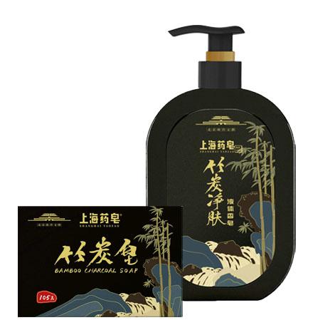 上海药皂竹炭净肤系列