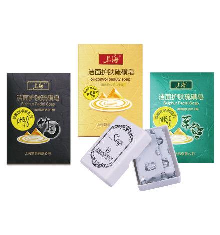 120克上海洁面护肤硫磺皂系列